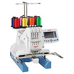 Máquina bordadora eléctrica blanco
