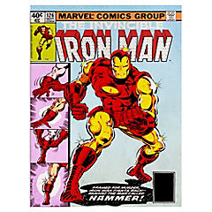Canvas decorativo Ironman 60x80 cm