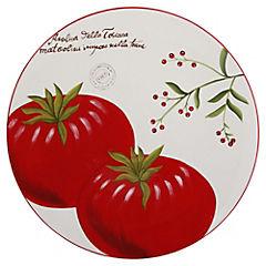 Plato redondo 38 cm Tomate