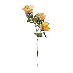 Flor Rosa x3 amarillo