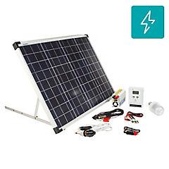 Kit energía solar 50W