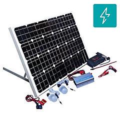 Kit energía solar 100W ampliable