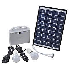 Kit solar 10W/18V