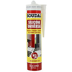 Silicona universal negro 300 ml