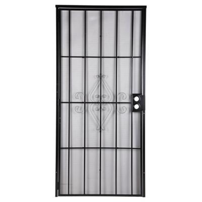 Reja Seguridad Puerta 91.5x203 Casa negro - Sodimac.com