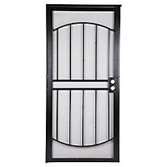 Reja Seguridad Puerta 91.5 x 203 Arcada Negro