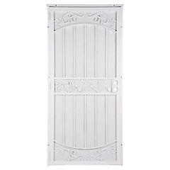 Reja Seguridad Puerta 91.5x203 Entra blanco