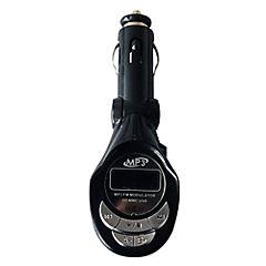 Transmisor FM USB negro