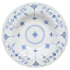 Plato para sopa 22 cm Azul