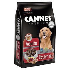 Alimento seco para perro adulto 15 kg carne y cereales