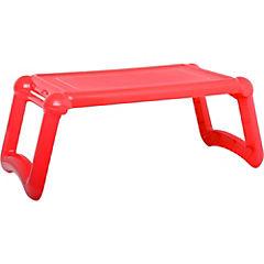 Mesa Laptop Plastico Rojo