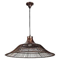 Lámpara colgante 20 cm 60 W