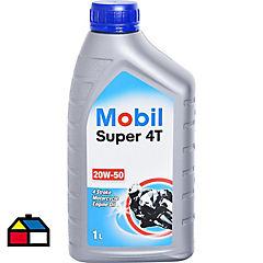 Mobil Super 4T 20W-50 Moto 1Lt