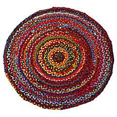 Alfombra redonda Surkanda 90 cm