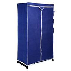 Clóset con bolsillos armables 160x90x50 cm Azul