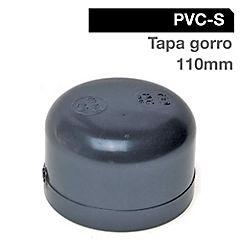 110 mm Tapa gorro Pvc presión