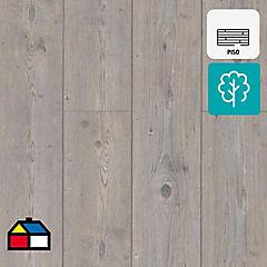 Piso laminado 8mm gris pine biselado 2.13 m2