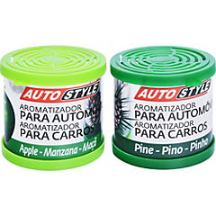 Aromatizante en gel para auto 6 aromas tarro