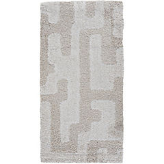 Alfombra noblese beige 60x115 cm