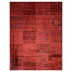 Alfombra concept rojo  150x200 cm