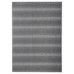Alfombra Decora rayas gris 60x110 cm