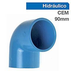 Codo PVC para cementar 75x90 mm