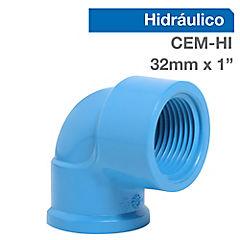 Codo PVC para cementar 1
