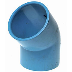 75 mm x45° Codo Pvc hidraúlico C10