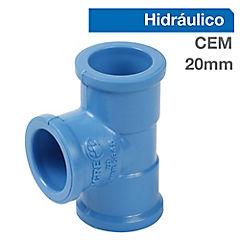 Tee PVC presión 20 x 20 x 20 mm. Cementar