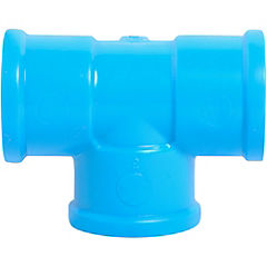 Tee PVC presión 25 x 25 x 25 mm. Cementar