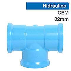 Tee PVC presión 32 x 32 x 32 mm. Cementar