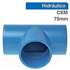75 mm Tee Pvc presión
