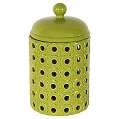 Jarro ceramica verde 28 cm
