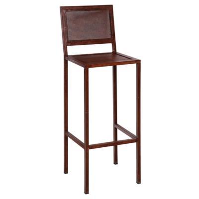 Silla bar metal caf for Sillas ergonomicas sodimac