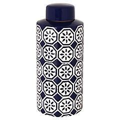 Jarro cilindro azul 32,5 cm