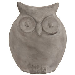 Mr. Owl decorativo Gris