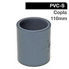 Copla PVC 110mm presión cementar