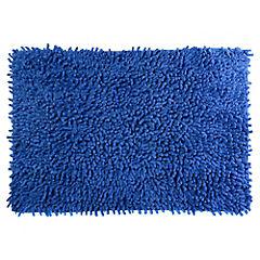Piso de Baño Shagy Azul 40 x 60 cm