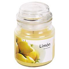Vela Frasco 80 gr Limón