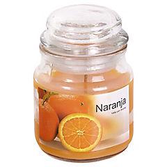 Vela Frasco 80 gr Naranja