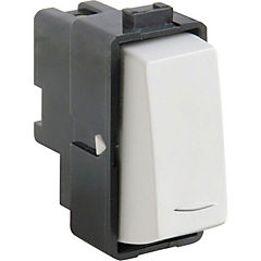 Módulo interruptor pulsador 16 A Blanco