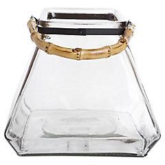 Florero 23 cm vidrio