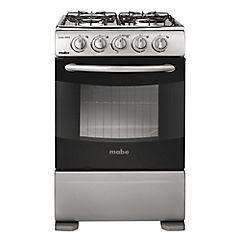 Cocina a gas 4 quemadores 63 litros grafito