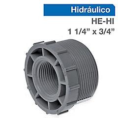 Buje reducción corto PVC para cementar 11,4 x 3/4