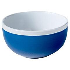 Pocillo 11 cm banda azul