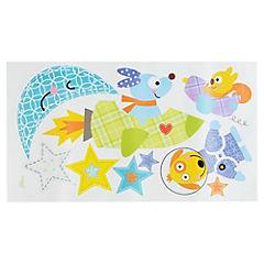 Sticker para Muro Cohetes y Perros