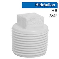 Tapa PVC a presión 3/4