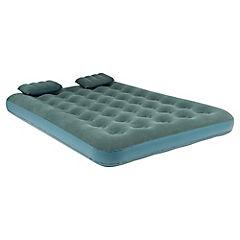 Combo Colchón inflable con 2 almohadas + Inflador