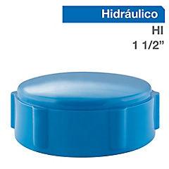 Tapa gorro PVC a presión 1 1/2