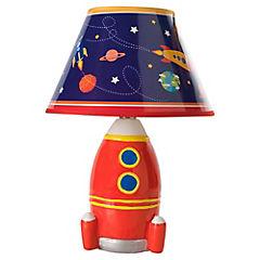 Lámpara Infantil Cohete Space Rojo